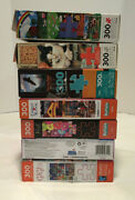 Lot Of 7 Large Format 300 Oversized Piece Puzzles Ceaco Buffalo