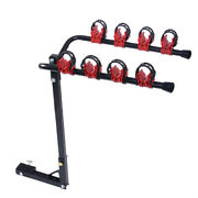 4-bikes Bike Rack Hitch Mount Carrier 1-1/4+ 2 For Car Truck Auto Suv Swing