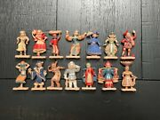 14 Miniature Vintage Dolls Of Our World Commonwealth Plastic Corporation