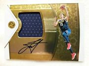 The Finest Gold /25 Direct Letter 18-19 Panini Opulence Precious Swatch