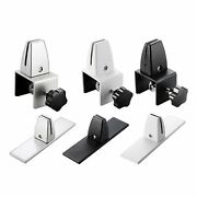 Metal Office Partition Bracket Clamp Shelf Shield Cubicle Clips Accessories
