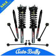 Front Complete Struts Rear Shocks And Links Fits Jeep Grand Cherokee And Commander