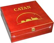 1x Catan 15th Anniversary Collector's Wood Edition Brand New