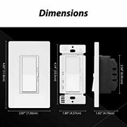 9 Electeck Dimmer Light Switch Single Pole Or 3-way For Led Incandescent Cfl