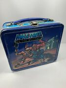 Vintage Aladdin 1983 Masters Of The Universe Metal Lunchbox No Thermos