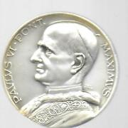 Vatican City 1965 Pope Paul Vi Visit To United Nations Medal 50 Mm In Holder