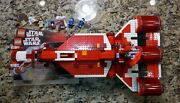 Lego Star Wars Set 7665 Republic Cruiser W Instructions And Minifigs