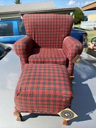 Vintage Boyds Bears Chair Love Seat Ottoman Handcrafted Upholstery Dolls