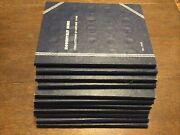 Lot Of 11 Used Whitman Coin Albums Blue Books No Coins Vintage