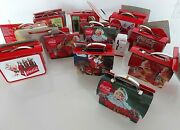 Nwt Coca Cola Miniature Tin Christmas Ornaments 2009 2011 Lunchboxes And Pails12