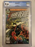Daredevil 168 January 1981 Elektra First Appearance White Pages Cgc 9.6