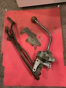 1965 1966 1967 Ford Mustang Factory Oem 4 Speed Shifter Top Loader W/linkage