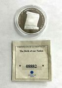 American Mint Birth Of Our Nation Bill Of Rights Pr..999 Silver Coin