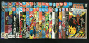 New Teen Titans Vol. 2 1984 From 1-18, Tales Of The Tt From 41-59 Lot Of 40