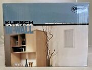 Klipsch Synergy Home In-wall Khw-5 Speakers 2 - New In Box Discontinued