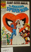 Amazing Spider-man Annual 21 1987 Spidey Cover Copy 1