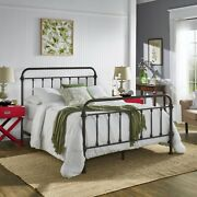 3 Piece Antique Bronze Spindle Bed And Nightstand Set Home Bedroom Furniture