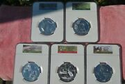 2015 Ngc America The Beautiful 5 Oz Set Ms69 Dpl First Releases