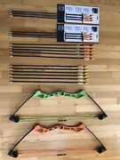 Bear Apprentice Youth Compound Bows 2 With Extra Arrows Sets