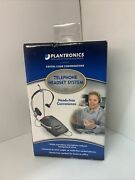 Plantronics S11 Office Business Wired Hands-free Telephone Headset System New