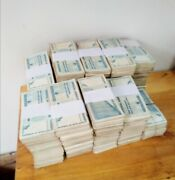 100 X 100 Billion Special Agro-cheques Zimbabwe Dollar Bonds Used Assetts