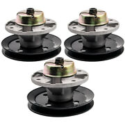 3x Mower Deck Spindle Assembly For John Deere 260 265 320 325 335 4410 4500