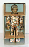 New The Mummy Robot Windup Japan Tin Toy Universal Monsters 1991