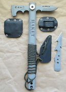 Tops Knives Allen Jensen Haket With Alligator Alley R-055 And Q-018