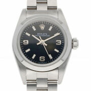Rolex Watches 76080 Stainless No. A 1998-1999 Guarantee Oyster Perpetual Used