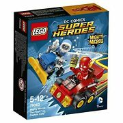 Lego Super Heroes Mighty Micro Flash Vs Captain Cold 76063 F/s W/tracking New