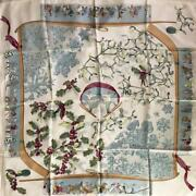 Hermes Carre 90 Scarf Last Yearand039s Snow Kozono White Large Format Carre