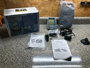 New Eagle Cuda 128 Portable Fish Finder-with Transducer-owners Manual-orig.box.