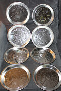 16 Vintage 1960's Mrs Smith's Mello Rich Pie Pans Tins New Old Stock