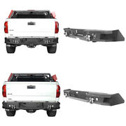 Steel Rear Bumpers W/ Led Lights And D-rings For Toyota Tundra 2014-2021 3nd Gen