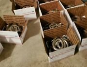 Box Of 20 Used Steel Horseshoes Straight From Montana Patina Included Fast Ship