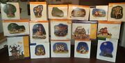 Department 56 Halloween Village Witch Skeleton Haunted Spooky House Collection