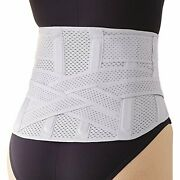 Low Back Pain Lumbar Pain Support Belt Which Doctor Made.m-l Size F/s W/track