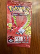 Pokemon Pop Series 5 Sealed Organized Play 2-card Promo Booster Pack Brand New