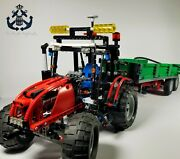 Lego Technic Tractor With Trailer Parts / Pieces Lot Set 8063-1 From 2009