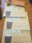 4 Starbucks Coffee Recovery Older Certificate Coupons
