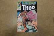 The Mighty Thor 411 1989 1st Appearance New Warriors Night Thrasher