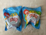 Lot Of 2 1998 Mcdonalds Furby Happy Meal Toys - 4 And 7 - New/sealed