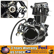 350cc 4stroke Motorcycle Engine Motor Water-cooled Manual Wet Multi-plate Clutch