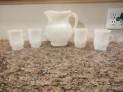 🎇 White Kool Aid Vintage Pitcher 4 Cups Free Shipping And Memories 🎇