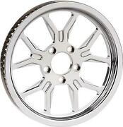 Lyndall Racing Brakes B-52 Pulley - 66t X 1in. - Chrome - 312-758