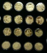 Great British Military Leaders Gold-plated Piedfort E. Caribbean Proof 2 2002-4
