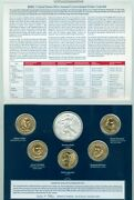 2012 Us Mint Annual Uncirculated Dollar Coin Set Burnished Silver Eagle