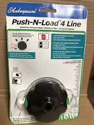 Shakespeare Push-n-load 4-line Replacement Trimmer Head 17259 New