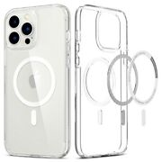 Iphone 13 Pro Max Pro Mini Case Spigen [ Ultra Hybrid Mag ] Clear Magsafe Cover