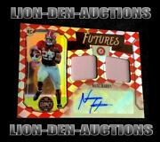 Najee Harris 2021 Legacy Futures Ruby Duel Rpa Auto Sp Rc Jersey22/50 1/1